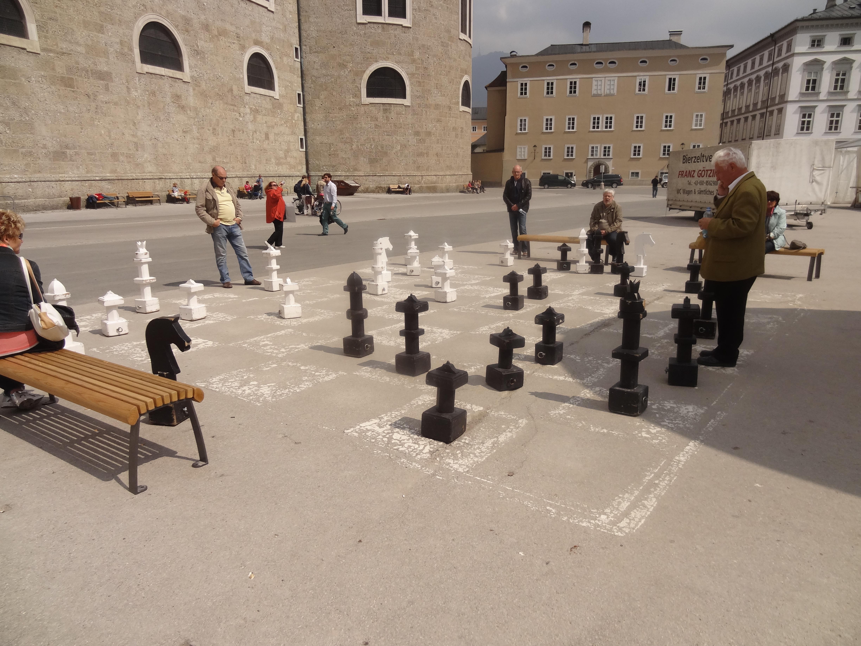 Big Chess Board.